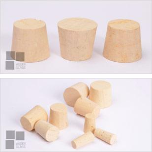 korki; stożkowe bezpieczne do żywności naturalny korek dębowy;
